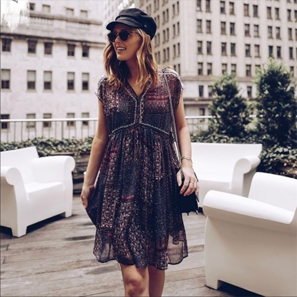 57b18286d0c6 Anthropologie Dresses & Skirts - Anthropologie Ranna Gill Flavia Swing Dress